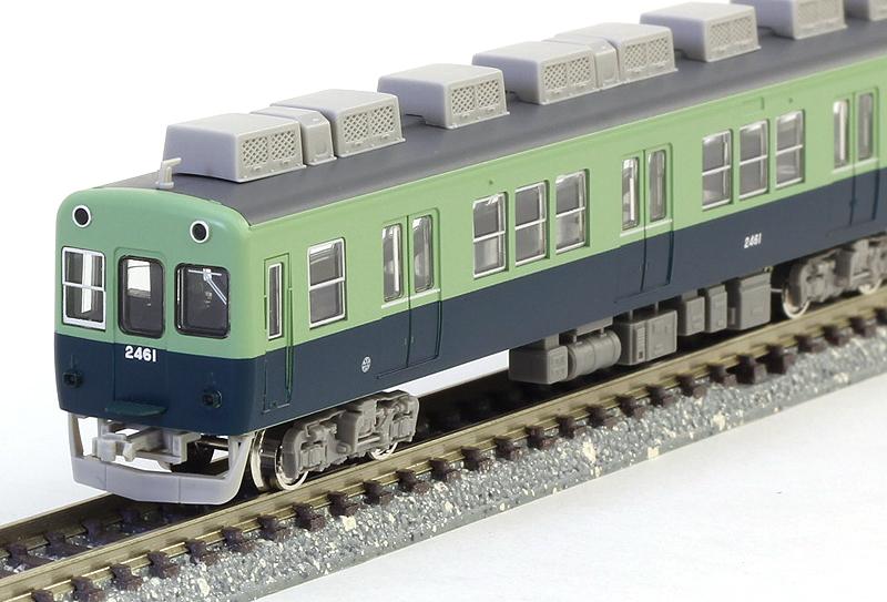 京阪2400系 未更新車1次車 7両編成セット グリーンマックス 4175 鉄道