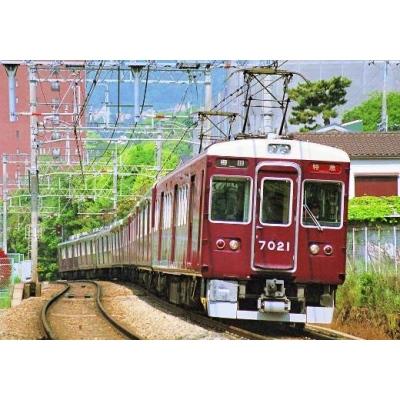 阪急7000系(7021編成タイプ 小窓無し)8両編成セット(動力付き)