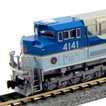 EMD SD70ACe UP George Bush #4141