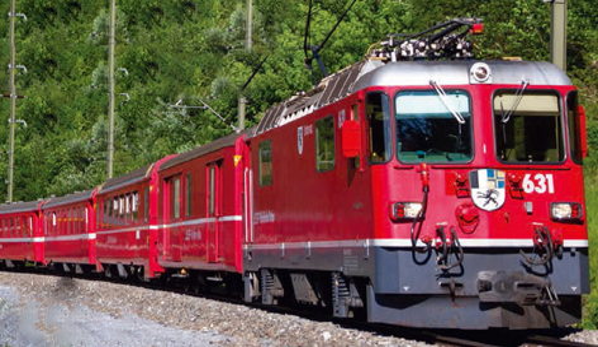 レーティッシュ鉄道Ge4/4 II形電気機関車